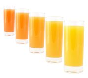 Coloured drink Royalty Free Stock Photography