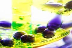 Coloured drops Stock Photos