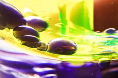 Coloured drops Stock Image