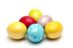Coloured easter eggs Stock Image