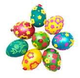 Coloured eggs for easter Stock Images