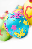 Coloured eggs for easter Royalty Free Stock Photo