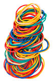 Coloured elastic bands Stock Photos