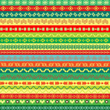 Coloured ethnic pattern background Royalty Free Stock Photography