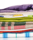 Coloured fabrics Royalty Free Stock Photo