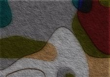 Coloured fibre pattern. Coloured fibre style pattern / illustration Stock Photos