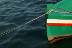 A coloured fishing boat Stock Photo