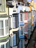 The coloured hotels of Tenby Stock Photo