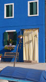 Coloured house in Burano island, Venice Royalty Free Stock Image
