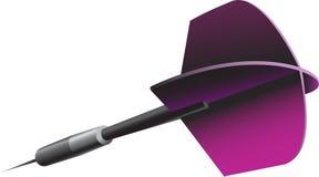 A coloured javelin (dart) Royalty Free Stock Photo