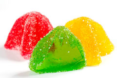 Coloured jelly sweets Royalty Free Stock Photo