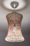Coloured lampshade Stock Photos