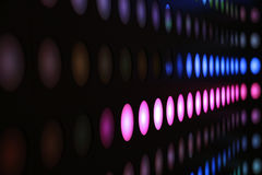 Coloured Light Strip royalty free stock images