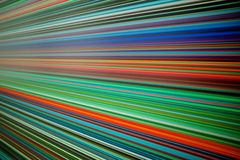 Coloured lines Royalty Free Stock Photos