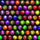 Coloured Marbles Stock Images