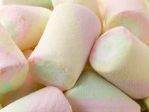 Coloured Marshmallows Royalty Free Stock Photography