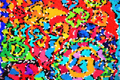 Coloured mosaic Stock Images