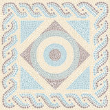 Coloured mosaic antique style Stock Photo