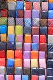 Coloured neckties background Stock Photos