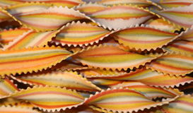 Coloured noodles #2. Very nice coloured italian noodles Stock Images