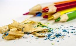 Coloured ołówek zdjęcie stock