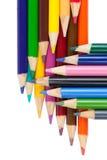 Coloured ołówki Fotografia Stock