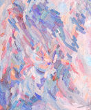 Coloured oil paint strokes Stock Images