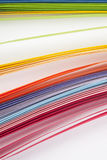 Coloured paper Stock Images