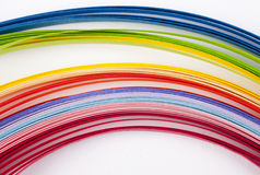 Coloured paper Stock Image