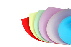 Coloured Paper Royalty Free Stock Photography