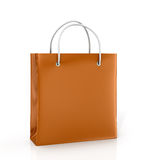 Coloured paper bag Stock Images