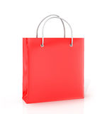 Coloured paper bag Stock Image