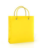 Coloured paper bag Royalty Free Stock Photos