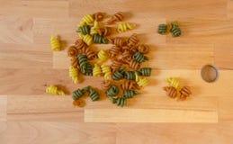 Coloured pasta Royalty Free Stock Photos