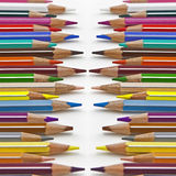 Coloured pencil. Several pencils in several colours Royalty Free Stock Photo