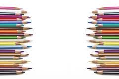 Coloured pencil Stock Photo