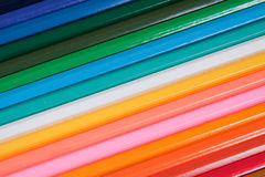 Coloured Pencil Background Royalty Free Stock Images