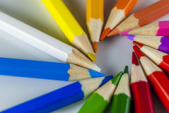 Coloured pencil Royalty Free Stock Images