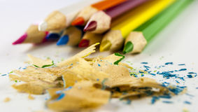 Coloured pencil Royalty Free Stock Photography
