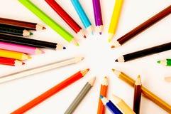 Coloured pencil Stock Photography