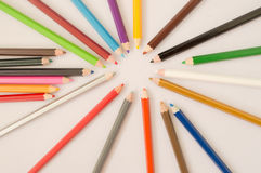 Coloured pencil Stock Images