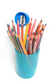 Coloured pencils Royalty Free Stock Photography