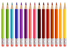 Coloured Pencils Royalty Free Stock Photos