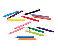 Coloured Pencils Royalty Free Stock Photo