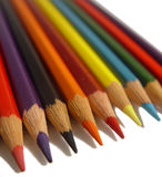 Coloured pencils royalty free stock image