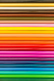 Coloured pencils Background. Coloured pencils are stack horizon Royalty Free Stock Image