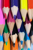 Coloured pencils Stock Images