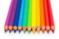 Coloured pencils Royalty Free Stock Photos