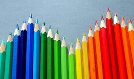 Coloured pencils Stock Image