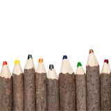 Coloured Pencils Square Royalty Free Stock Photography